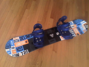 Firefly snowboard and bindings 120cm