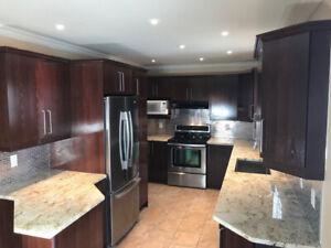 ***Armoires cuisine et comptoirs granite grande qualité***