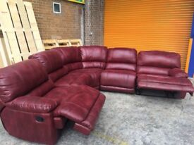 Harvey's Governor reclining corner sofa ex display model