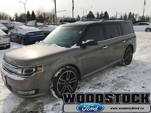 2014 Ford Flex Limited   LOCAL TRADE, LIMITED, AWD