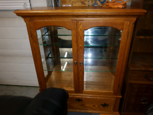 Expensive China Cabinet with lights