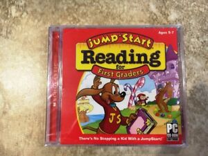 Jump Start Reading for 1st Graders (CD-Rom)