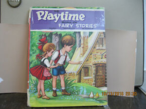 THE  PLAYTIME   BOOK  OF FAIRY STORIES    VINTAGE