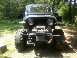 1983 Jeep CJ7 on and off road ready