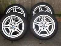 BMW ALLOYS WANTED STAGGERED SET