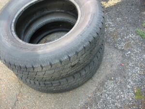 two all season SUV tires 225/75/16