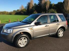 LAND ROVER FREELANDER S TD4 6 SPEED MANUAL DIESEL 4X4 WITH TOW BAR