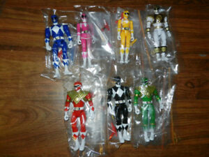 "Mighty Morphin Power Rangers 5"" figure lot"
