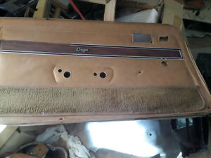 1975-1979  Nova door panels Tan