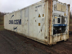 20' and 40' WORKING Refrigerated  Storage Containers FOR SALE