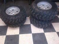 Arctic cat  ATV tires