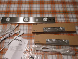 Brand New  IKEA NITTON  under cabinet lighting units  (Set of 3)