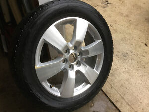 "SINGLE BRAND NEW 20"" OEM Cheverolet Traverse LTZ Wheel and tire Cambridge Kitchener Area image 1"