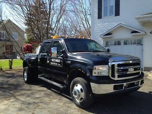 Ford f350 towing remorqueuse depanneuse