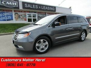 2013 Honda Odyssey Touring  LEATHER, NAV, ROOF, DVD, PWR GATE  S