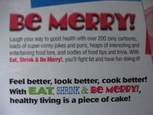 Eat, Shrink & Be Merry Cookbook Prince George British Columbia image 6