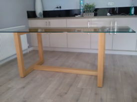 Marks and spencers Colby collection dining table 6 MONTH'S OLD