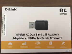 Wireless AC Dual Band USB Adapter