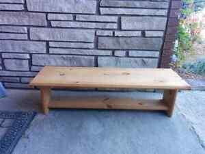 Long Wood Rectangular table Kawartha Lakes Peterborough Area image 1