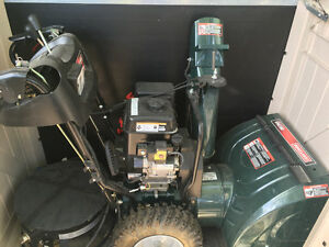 "Craftsman 24""Two Stage Power Propelled Snowblower"