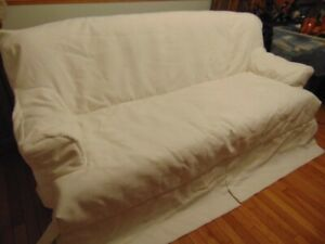 Sofa cover, loveseat cover and chair cover