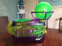 Hamster Cage - only used a few months $30 OBO
