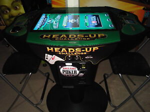 Heads-Up Challenge WSoP Edition 2 player digital Poker table London Ontario image 2