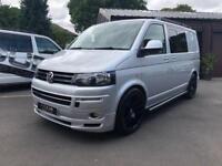 Vw transporter vans for sale gumtree 201414 vw t51 140ps 6speed manual custom kombi publicscrutiny Images