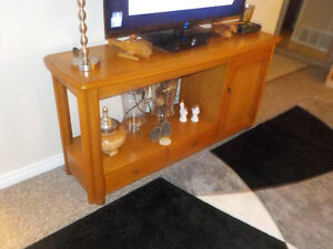 SOLID WOOD SOFA TABLE / TV TABLE /STAND