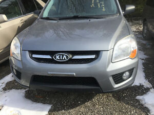 2009 GRAY KIA SPORTAGE MANUAL TRANSMISSION