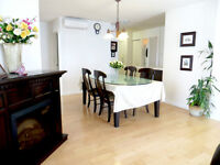 CDN/NDG Spacious 5 ½ condo on fifth floor for rent, available no