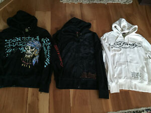 New! Ed Hardy Christian Audigier hoodies. Men's size small