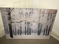 Large Next winter scene canvas