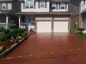 Exposed Aggregate, Stamped Concrete, Flagstone - Sealing London Ontario image 7