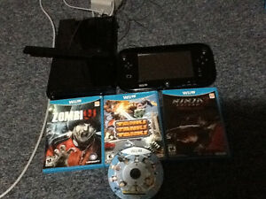 WII U and games for sale