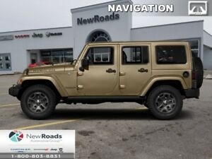 2018 Jeep Wrangler Unlimited Rubicon 4x4  - Navigation - $327.52