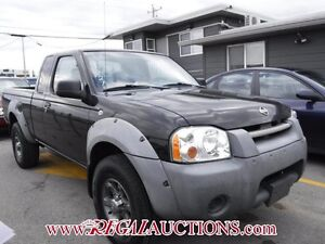2001 NISSAN FRONTIER XE KING CAB 4X4 V