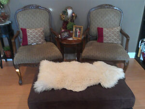 Coffee Chairs and Table of 3