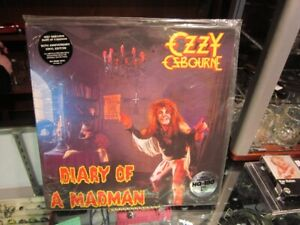 """Ozzy Osbourne """"DIARY OF A MADMAN"""" On Record SEALED!!"""