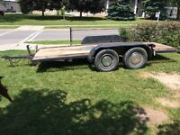 Car hauler / car trailer
