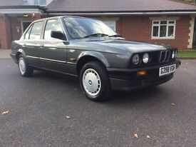 BMW 316i Automatic timewarp 1989