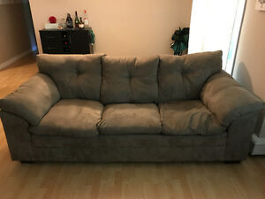 Couch and loveseat less than a year old NEED GONE ASAP