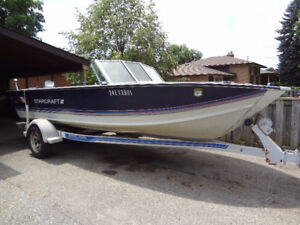 18' Starcraft bass boat for sale
