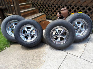 "Cragar SS and GT  14"" and 15"" with tires"