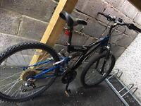 Vertigo rock face 18 speed small adults mountain bike