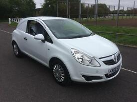 2008 Vauxhall Corsa van 1.3CDTi COMPLETE WITH M.O.T AND WARRANTY NO V.A.T