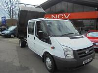 2011 FORD TRANSIT D Cab Chassis TDCi 100ps [DRW] Tipper SUPERB EXAMPLE