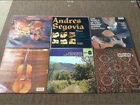 """Vinyl 12"""" Guitar/Violin Concertos Recitals £3 EACH"""