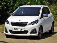 2015 Peugeot 108 1.2 82 FELINE Manual Hatchback