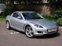 EXCELLENT SPEC! 2007 MAZDA RX8 192 PS ONLY 32000 MILES, FULL LEATHER BOSE SYSTEM